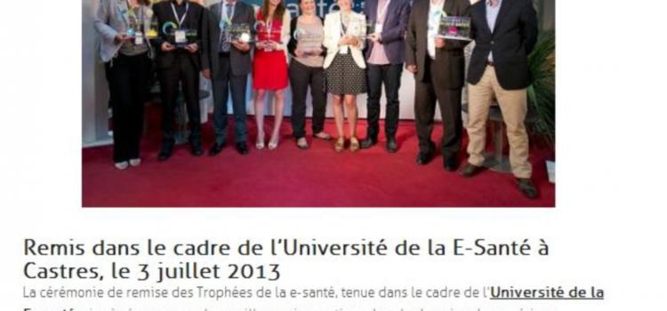 Trophées de la e-santé 2013