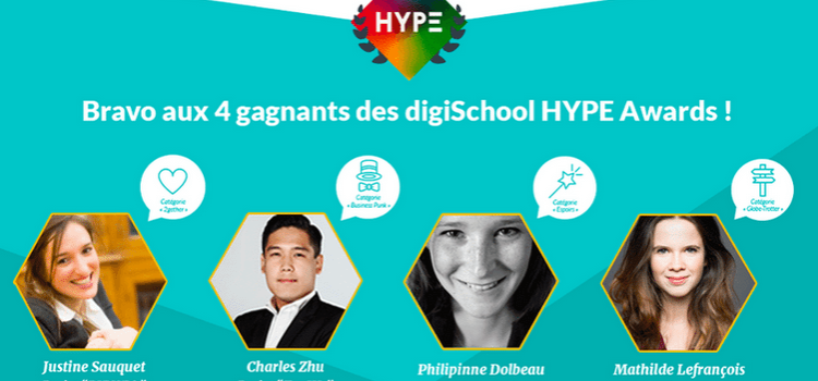 Lauréat des Hype Awards 2015