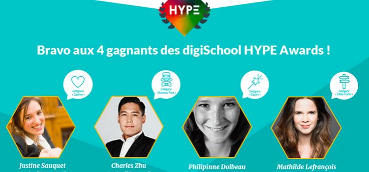 Lauréat des Hype Awards 2015