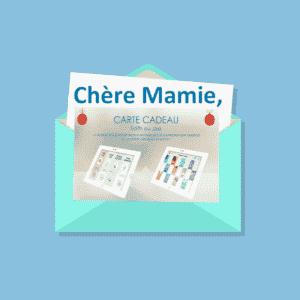 cadeau noel Mamie
