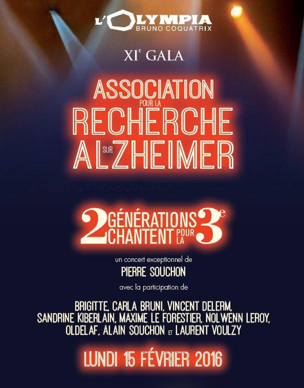 Jeannette vous conseille… l'Olympia contre Alzheimer
