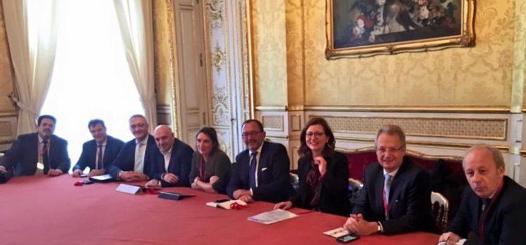 DYNSEO à l'Elysée avec la délégation France Silver Eco
