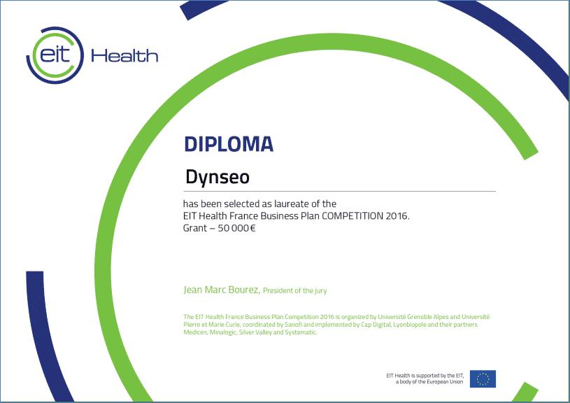 dynseo eit health concours