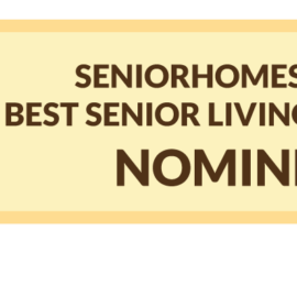 Scarlett nominated for the Seniorhomes awards 2017