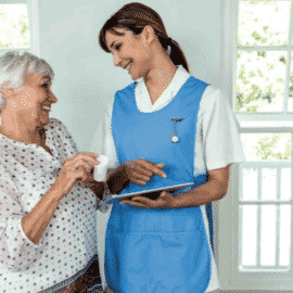 How to support caregivers and home helpers using digital technology