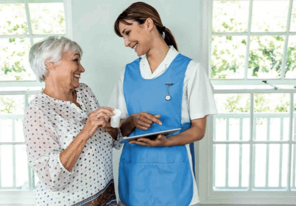 How to guide home support workers and home helpers through the digital world