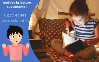 Comment donner le goût de la lecture aux enfants?